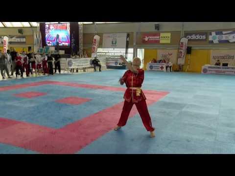 Veronica Dombrovskaya WAKO European Championships 2016