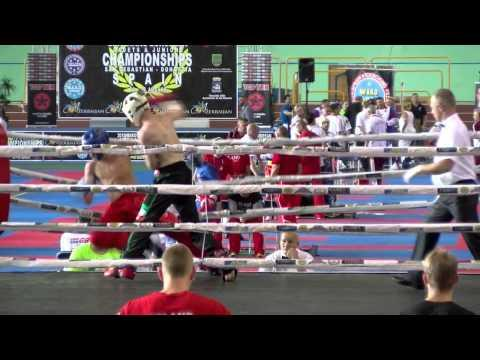 Peter Carr V Daniel SpiewakWAKO European Championships 2015