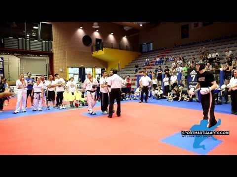 Georgian Cimpeano Vs Roman Brundel - Team Semi Finals - Bestfighter WAKO World Cup 2014