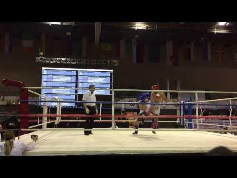 Sedad Bukvic (SRB) Vs Bozlak Alparslan (TUR) WAKO EC 2016 First Round