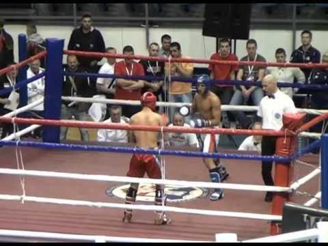 Semir Delic VS Aleksandar Konovalov 1/2 Final (WAKO World Championships 2015 Belgrade)