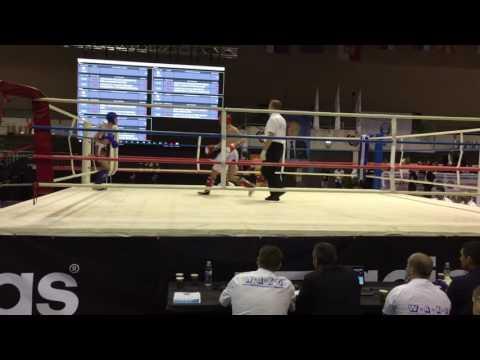 Sedad Bukvic (SRB) Vs Bozlak Alparslan (TUR) WAKO EC 2016 Second Round