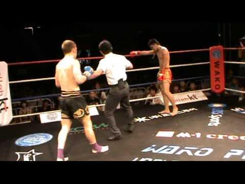 Jake Richards Fighting K1 Wako Championship Event For Sinbi Muay Thai