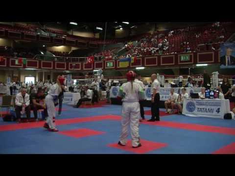Jodie Browne V Anesa Trle WAKO Junior And Cadet World Championships 2016