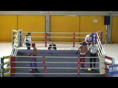 Angelos Giakoumis V Emre Karacha WAKO European Championships 2016