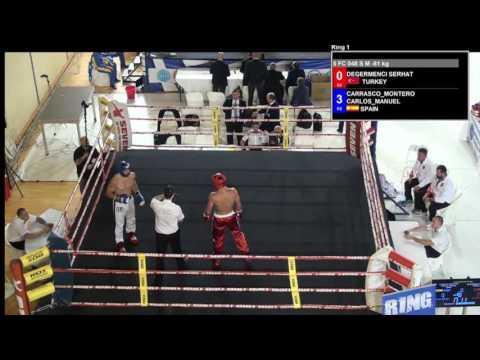 Serhat Degermenci V Carlos Manuel Carrasco Montero WAKO European Championships 2016