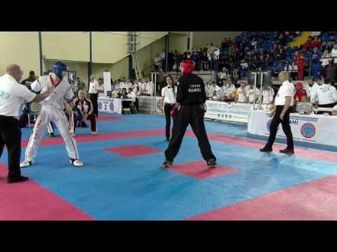 Emanuil Diitrov V Jeno Rohonczi WAKO European Championships 2016