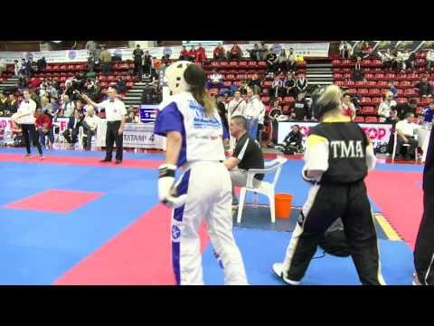 Dorina Szabo V Shauna Bannon Pointfighting Cup 2016