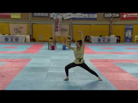 Yulia Karmalova WAKO European Championships 2016