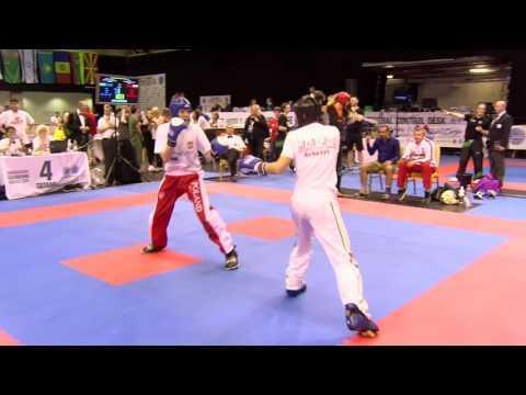 Kiraly V Holland:Poland Hungarian Kickboxing World Cup 2016