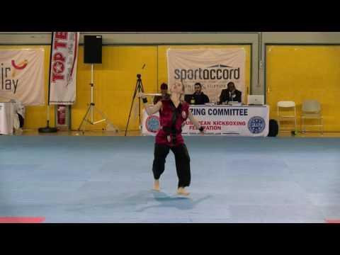 Maria Pekarchyk WAKO European Championships 2016
