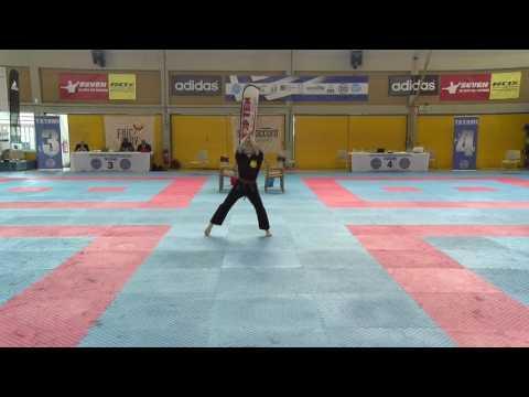 Denise Theussen WAKO European Championships 2016