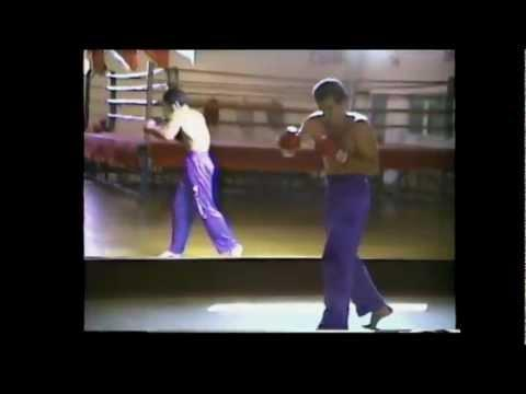 Nasser Nassiri (Kickboxing World Champion Training Time)