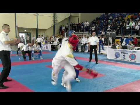 Davide Colla V Panagiotis Theotokatos WAKO European Championships 2016