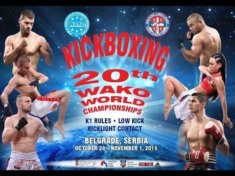 WAKO Senior World Championships Ring 2 30/10/2015