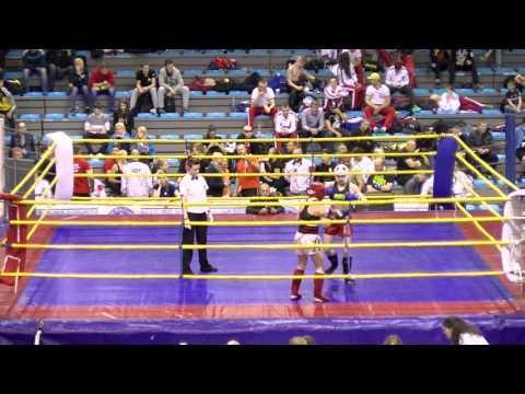 Anna Kozera V Liudmila Chyslova Hungarian Kickboxing World Cup 2016