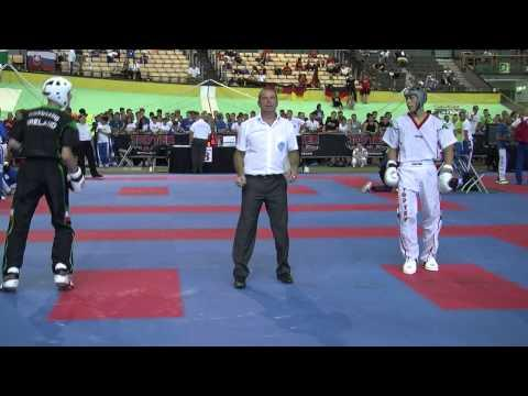 Kyle Maguire V Zoltan Balint WAKO European Championships 2015