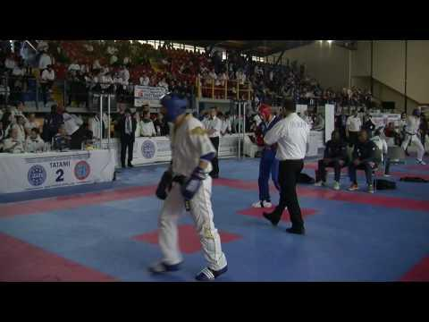 Darrell Merryweather V Giovanni Ciolino WAKO European Championships 2016