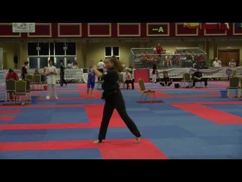 Angelina Kopytova WAKO Junior And Cadet World Championships 2016