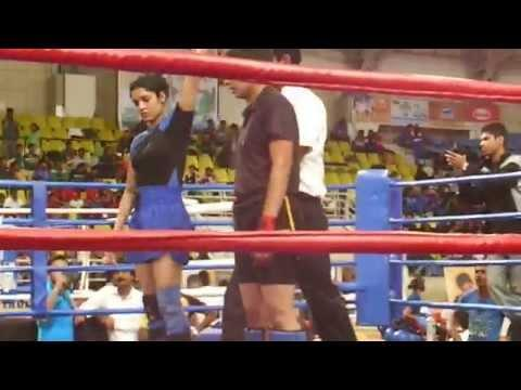 KB Final Women Full Contact Super Fight League Fighters Fighting