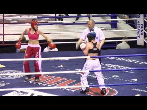 Dorota Godzina V Cilla Meygery Hungarian Kickboxing World Cup 2016