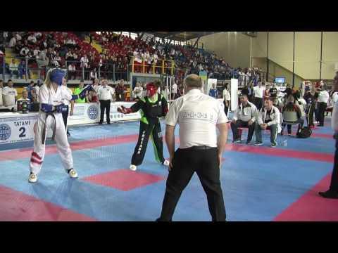 Keri Browne V Viktoria Hader WAKO European Championships 2016