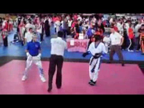 WAKO 2008 USA (Justin Ortiz) Vs Greece Round 2