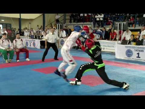 Rob Hurley V Roland Veres WAKO European Championships 2016