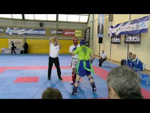 Peter Bayer V Blaz Potocnik WAKO European Championships 2016