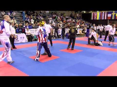 Carlotta Pra V Anna Bennedetti Hungarian Kickboxing World Cup 2016