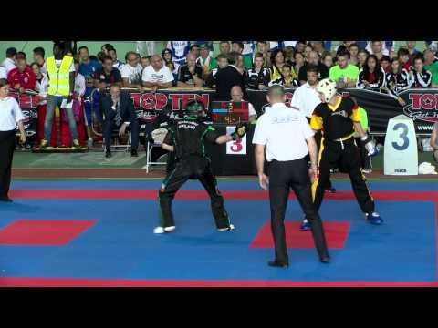 Jordan White V Kiandro Lebon WAKO European Championships 2015