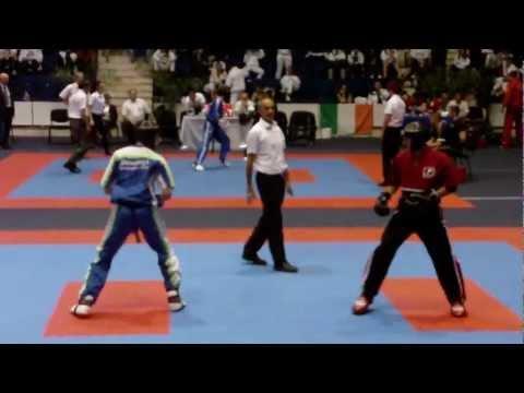 EC WAKO Bucharest, 1/4 Finale Point Fighting-74kg Tilen Zajc(SLO) Vs Oleksandr Bratchikov(UKR)