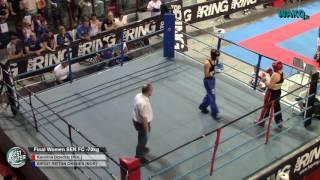 Bestfighter 2016 - Final - FC Women Sen -70kg, Dziedzic Karolina (POL) vs Oksnes Birgit_Reitan (NOR)