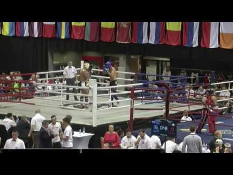 WAKO Kickboxing World Cup 2016 Hungary - Mantas Rimdeika Vs. Kohout Frantisek