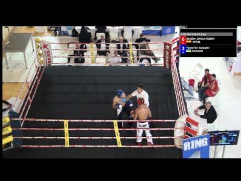 Ruben Sendin Oniga V Robert Yovnysh WAKO European Championships 2016