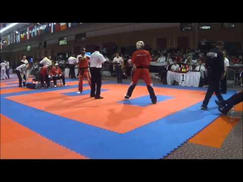 Hüseyin Semerci V Emanuil Dimitrov WAKO Senior World Kickboxing Championships 2013 Antalya / Turkey