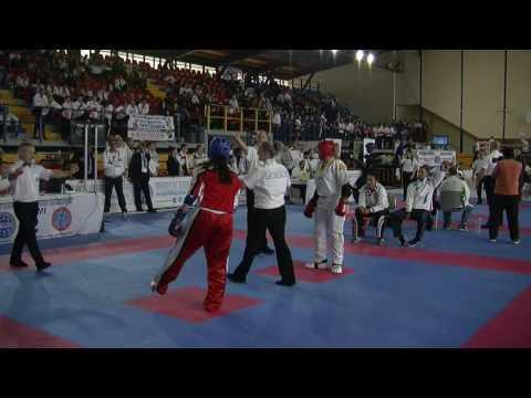 Deborah Devita V Sumeyra Seyfeli WAKO European Championships 2016