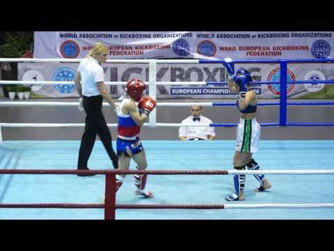 VILCHINSKAIA IRINA (RUS) Vs DIMOVA PLAMENA (BUL) K1 Final WAKO 2016