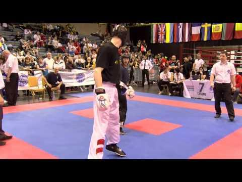 Zoltan Seban V Roman Brundl Hungarian Kickboxing World Cup 2016