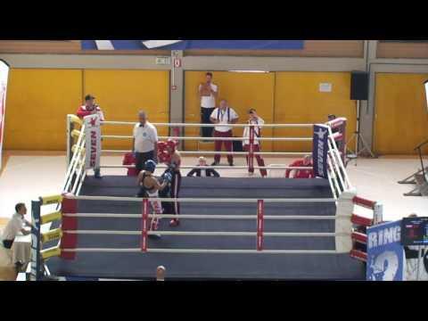Lucia Cmarova V Tennesse Randall  WAKO European Championships 2016