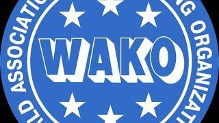WAKO Kickboxing Maribor, Slovenia - 28/10/2016 camera 2 Live Stream (TATAMI!)