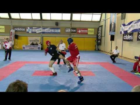 Boris Miskovic V Piotr Wypchal WAKO European Championships 2016