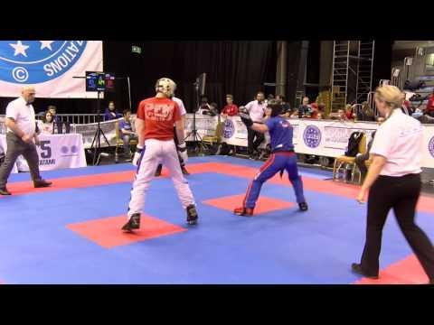 Tamas Korpadi V Sam Sparks Hungarian Kickboxing World Cup 2016