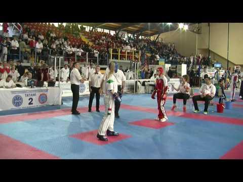 Ayensur Topal V Cintia Sandor WAKO European Championships 2016