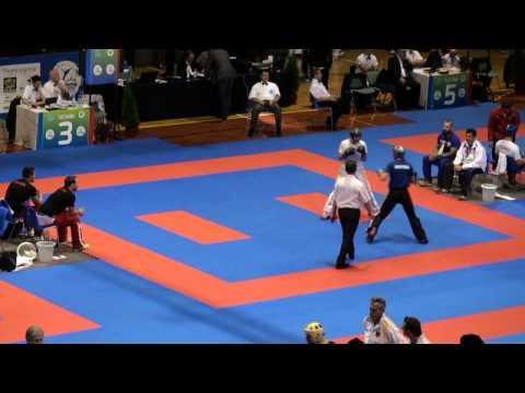 WAKO Kickboxing - EC 2014 - W LC -65kg - Caruso(ITA) - Trimmel(AUT)