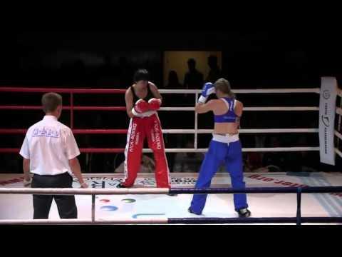 WAKO Full Contact Thea Therese Næss Vs Alibekova
