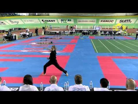 Angelina Kopytova WAKO European Championships 2015