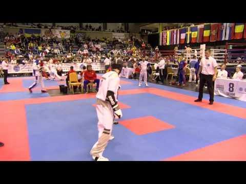 Viacheslav Scherbakov V Davide Colla Hungarian Kickboxing World Cup 2016
