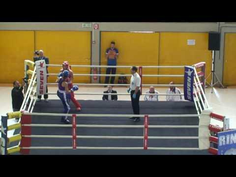Thea Therese Naess V Audrey Guillaume WAKO European Championships 2016