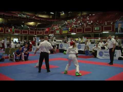 Tania Kaimel V Federica Trovalusci WAKO Junior And Cadet World Championships 2016
